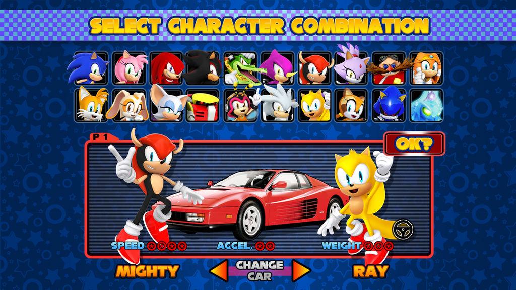 Mario Kart Double Dash Css Sonic Sonic By Nibroc Rock On Deviantart
