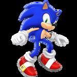 Legacy Sonic The Hedgehog Render (Mad Alt.)