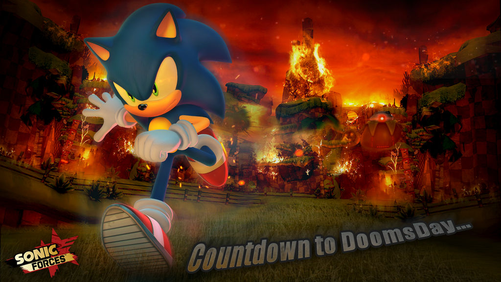 Sonic Forces Countdown To Doomsday Wallpaper By Nibroc Rock On Deviantart