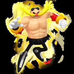 [April Fools] Legacy Super Eggman Render