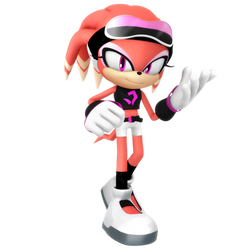 Shade The Echidna Casual Outfit Render