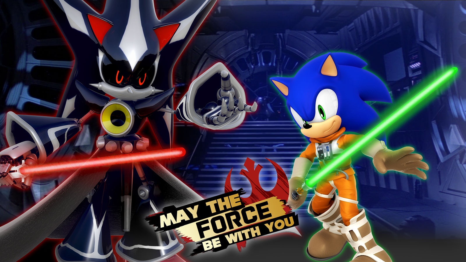 May The Force Be With You Wallpaper By Nibroc Rock On Deviantart