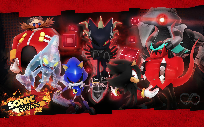 Sonic Forces: Villains Wallpaper by Nibroc-Rock on DeviantArt