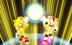 THE PLANETS LAST HOPE SONIC AND SHADOW UNITE TextL