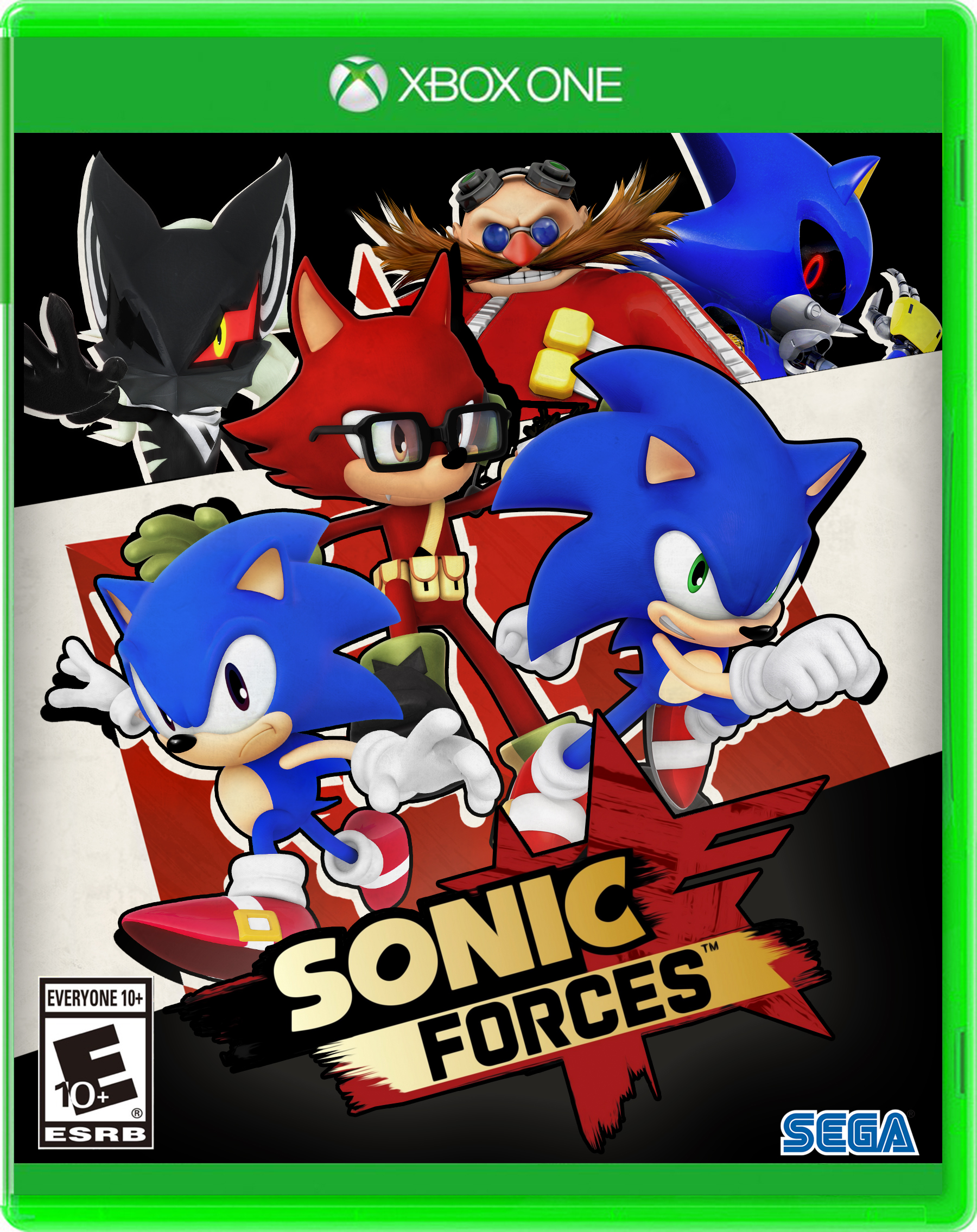 Nibroc S Sonic Forces Boxart Xboxone By Nibroc Rock On Deviantart
