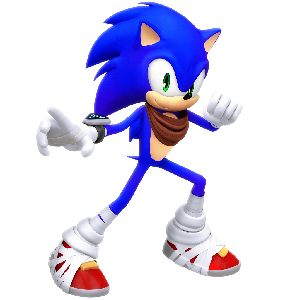 Boom Sonic Legacy Render by Nibroc-Rock on DeviantArt