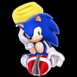 Angel Sonic Render