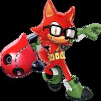 Custom Hero: Gadget The Wolf Render by Nibroc-Rock