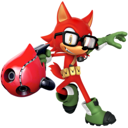 Custom Hero: Gadget The Wolf Render