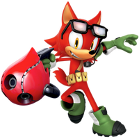 Custom Hero: Gadget The Wolf Render (Glasses Alt) by Nibroc-Rock