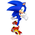 SA2 3D Sonic Art Remake Render