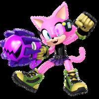 Custom Hero: Fuschia The Cat by Nibroc-Rock