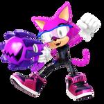 Custom Hero: Frill The Cat Render
