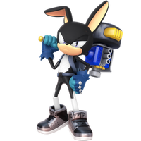 Custom Hero: Grey The Rabbit Maskless Alt by Nibroc-Rock