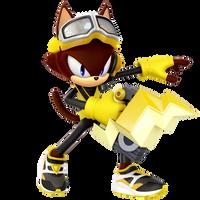 Custom Hero: Spike The Cat by Nibroc-Rock
