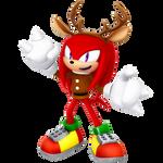 Reindeer Knuckles 2017 Render