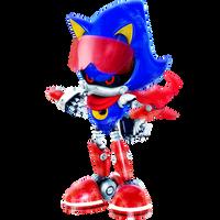 Winter Metal Sonic Render
