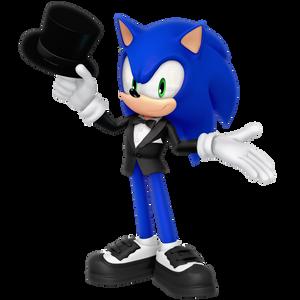 2018 New Years Render: Sonic Tuxedo