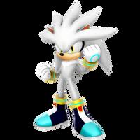 Silver The Hedgehog Resistance Render by Nibroc-Rock