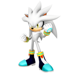 Silver The Hedgehog Resistance Render by Nibroc-Rock