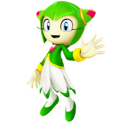 Cosmo The Seedrian Render