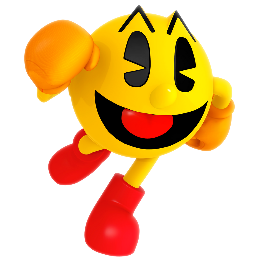 This is a graphic of Impeccable Pac Man Render