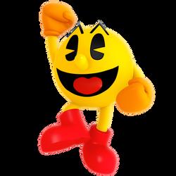 Pac-Man Jump Render