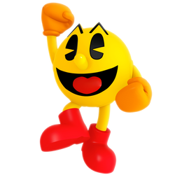 Pac-Man Jump Render by Nibroc-Rock