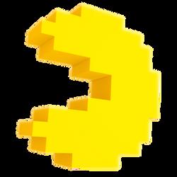 Pac-Man Pixel Render by Nibroc-Rock