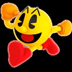 Pac-Man Running Render