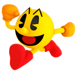 Pac-Man Running Render by Nibroc-Rock