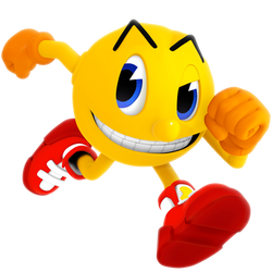 Pac-Man Ghostly Adventure Style Render by Nibroc-Rock