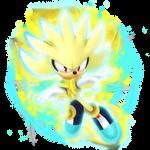 (Future) ESP Super Silver The Hedgehog Render