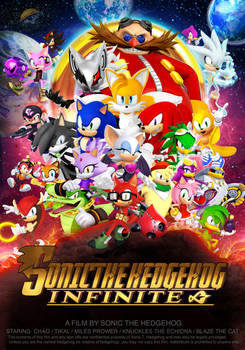 Infinity War Poster Sonic Version