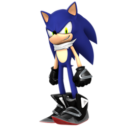 What if: Sonic The Infinite (Second Render) by Nibroc-Rock