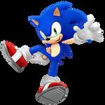 Sonic 27th Render