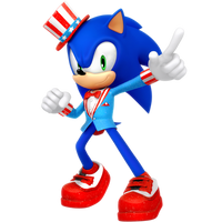 4th of July Sonic Render 2018