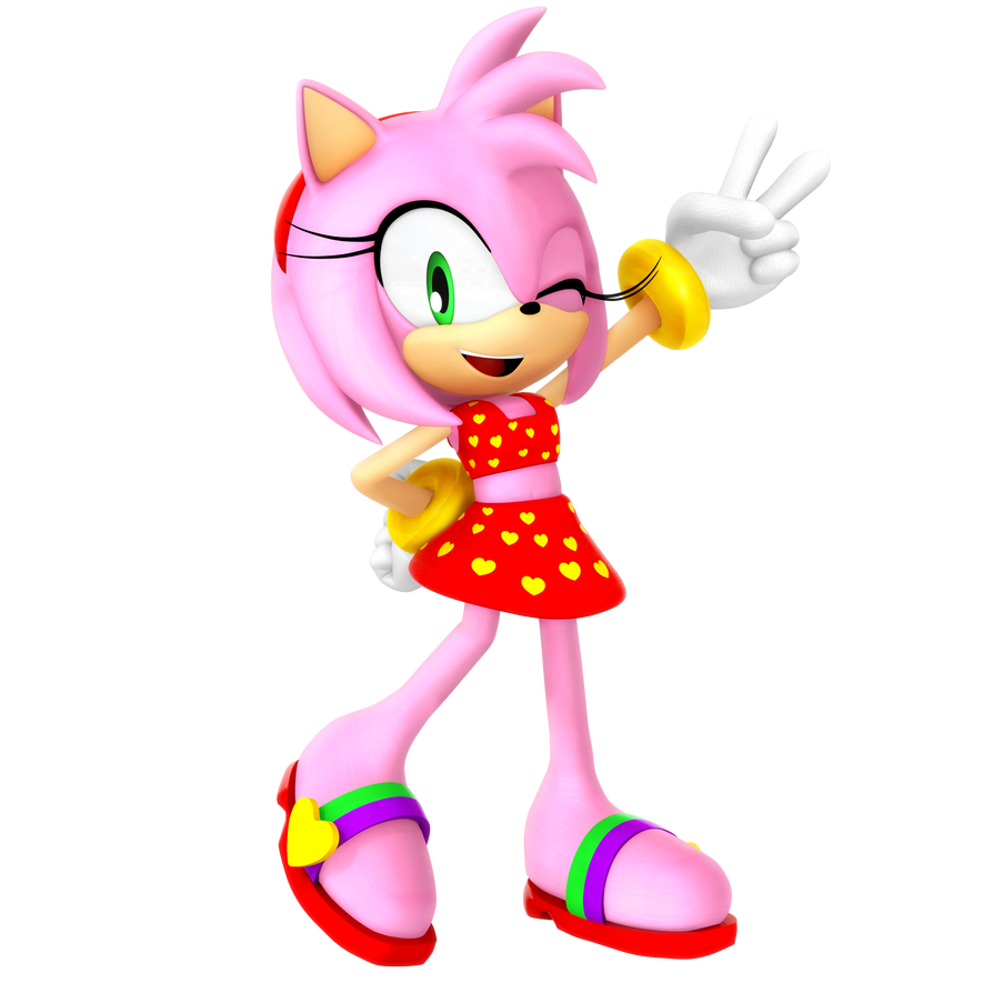 Amy Rose Summer 2018 By Nibroc-Rock On DeviantArt