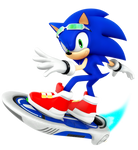 Sonic: Riders Outfit 2018 Render