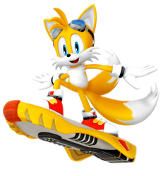 Tails: Riders Outfit render