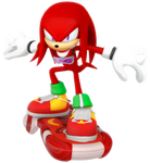 Knuckles: Riders Outfit Render