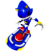 Metal Sonic: Riders outfit... er Riders Theme by Nibroc-Rock