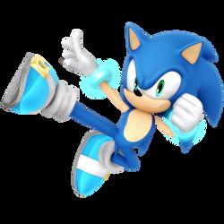 Sonic Light Blue Smash Alt Render by Nibroc-Rock
