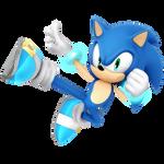 Sonic Light Blue Smash Alt Render