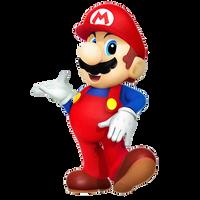 Retro Mario Render