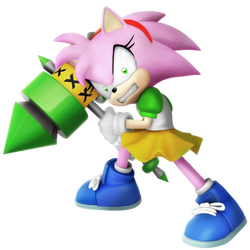 Rosy the Rascal (Anti-Amy Render) 6/6