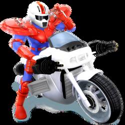 Mach Rider Render by Nibroc-Rock