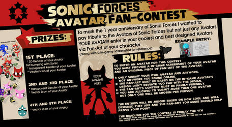 Sonic Forces contest entry by Nibroc-Rock