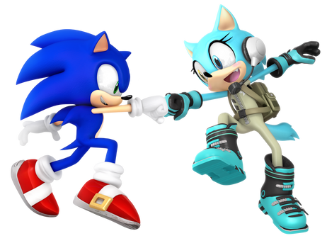Sonic and Scar: Fist Bump!