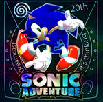 Sonic Adventure 20th Anniversary Poster